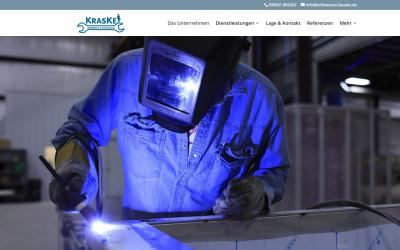 Eine neue Webseite für Metallbau Kraske Schlosserei Lausitz