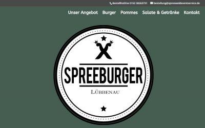 Eine neue Webseite für Spreeburger – Lieferdienst mit VIEL LIEBE UND BIO VEREINT